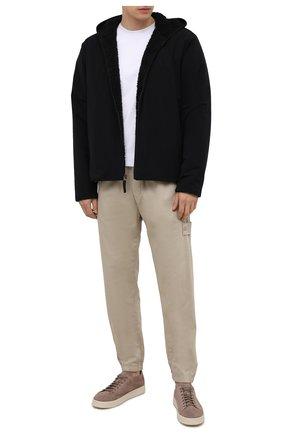 Мужская утепленная куртка JAMES PERSE черного цвета, арт. MEPS2014   Фото 2