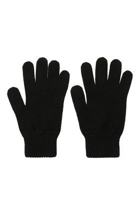 Мужские кашемировые перчатки JOHNSTONS OF ELGIN черного цвета, арт. HAY01001 | Фото 2 (Материал: Кашемир, Шерсть; Кросс-КТ: Трикотаж)