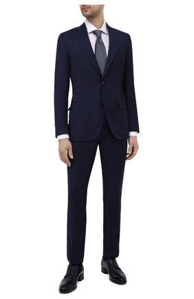 Мужской шерстяной костюм BRIONI синего цвета, арт. RA0B00/P0A31/PRE C0UTURE | Фото 1
