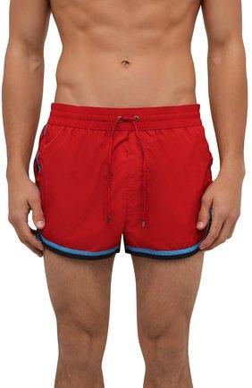 Мужские плавки-шорты DOLCE & GABBANA красного цвета, арт. M4B05T/FUSFW | Фото 2