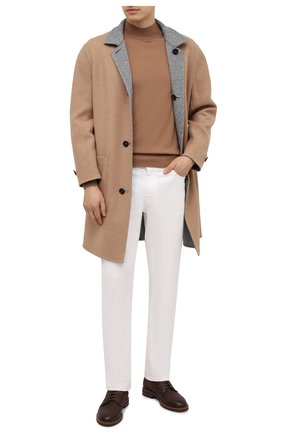 Мужские джинсы BRIONI белого цвета, арт. SPPC0L/08T01/CHAM0NIX | Фото 2