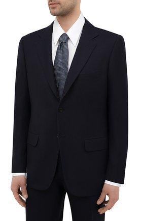 Мужской костюм из шерсти викуньи KITON темно-синего цвета, арт. UA81K06I61/VVIC | Фото 2