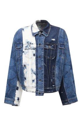 Мужская джинсовая куртка DOLCE & GABBANA голубого цвета, арт. G9UP5D/G8DU6   Фото 1