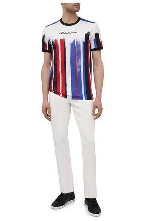 Мужская хлопковая футболка DOLCE & GABBANA разноцветного цвета, арт. G8JX7T/FI7YS | Фото 2