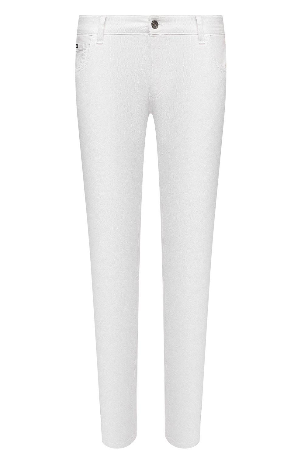Мужские джинсы DOLCE & GABBANA белого цвета, арт. GY07LD/G8CN8 | Фото 1