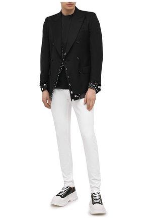 Мужские джинсы DOLCE & GABBANA белого цвета, арт. GY07LD/G8CN8 | Фото 2