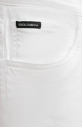 Мужские джинсы DOLCE & GABBANA белого цвета, арт. GY07LD/G8CN8 | Фото 5