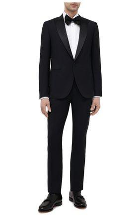 Мужская хлопковая сорочка CORNELIANI белого цвета, арт. 87P100-1111264/00 | Фото 2