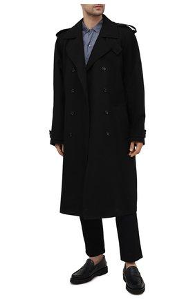 Мужские кожаные пенни-лоферы noah BALLY черного цвета, арт. N0AH/50 | Фото 2 (Материал внутренний: Натуральная кожа; Стили: Классический)