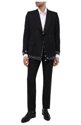 Мужские кожаные дерби scrivani BALLY черного цвета, арт. SCRIVANI/500 | Фото 2 (Материал внутренний: Натуральная кожа; Стили: Классический)