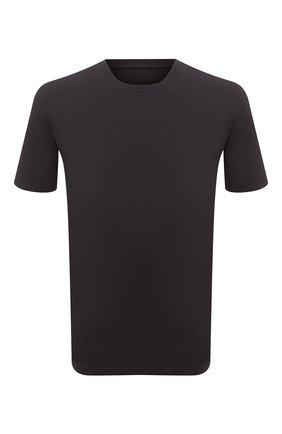 Мужская хлопковая футболка MAISON MARGIELA темно-серого цвета, арт. S50GC0622/S22533   Фото 1