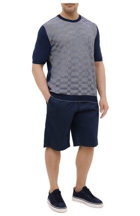 Мужской хлопковый джемпер SVEVO темно-синего цвета, арт. 46311SE21L/MP46 | Фото 2