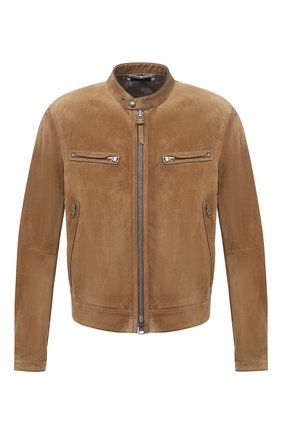 Мужская замшевая куртка TOM FORD бежевого цвета, арт. BW417/TFL822 | Фото 1