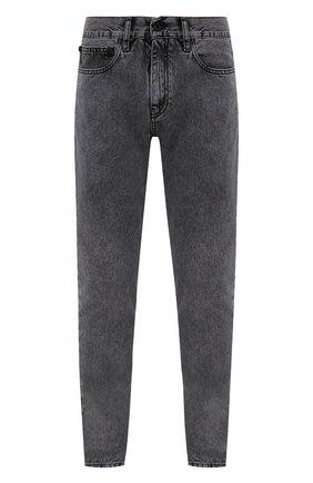 Мужские джинсы OFF-WHITE серого цвета, арт. 0MYA074S21DEN003 | Фото 1