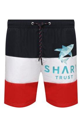 Мужские плавки-шорты PAUL&SHARK разноцветного цвета, арт. 21415043/BVD | Фото 1
