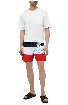 Мужские плавки-шорты PAUL&SHARK разноцветного цвета, арт. 21415043/BVD | Фото 2