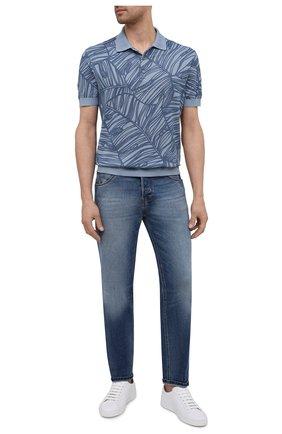Мужские джинсы PT TORINO синего цвета, арт. 211-C5 TJ05B10STY/TX22 | Фото 2