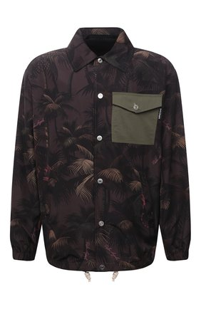 Мужская куртка PALM ANGELS разноцветного цвета, арт. PMEA076S21FAB0015556   Фото 1