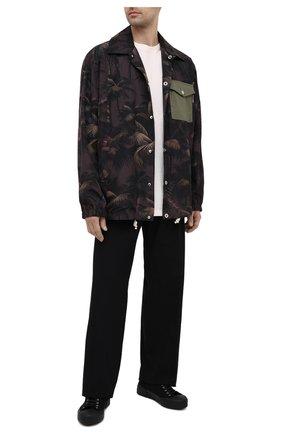 Мужская куртка PALM ANGELS разноцветного цвета, арт. PMEA076S21FAB0015556   Фото 2