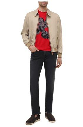 Мужские джинсы ZILLI черного цвета, арт. MCV-00101-SABL1/S001 | Фото 2