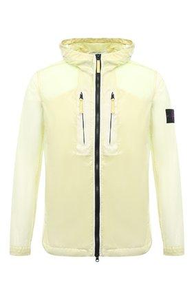 Мужская куртка STONE ISLAND желтого цвета, арт. 741543034   Фото 1