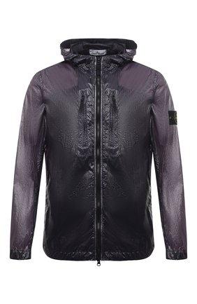 Мужская куртка STONE ISLAND темно-синего цвета, арт. 741543034 | Фото 1