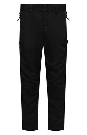 Мужские брюки STONE ISLAND SHADOW PROJECT черного цвета, арт. 741930402   Фото 1