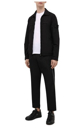 Мужские брюки STONE ISLAND SHADOW PROJECT черного цвета, арт. 741930402   Фото 2