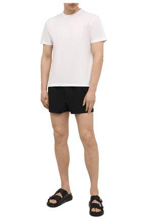 Мужские плавки-шорты DOLCE & GABBANA черного цвета, арт. M4A06T/FPUAB | Фото 2