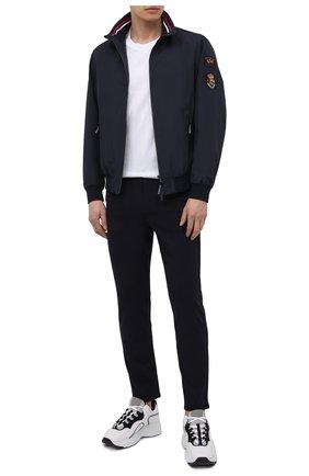 Мужские брюки 7 FOR ALL MANKIND темно-синего цвета, арт. JSTCB570NV | Фото 2