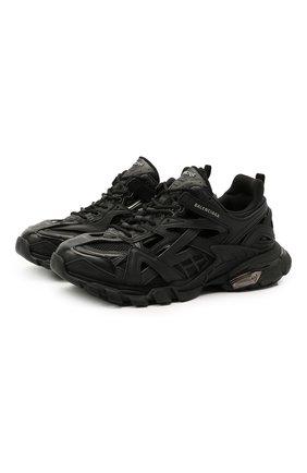 Мужские комбинированные кроссовки track 2.0 BALENCIAGA черного цвета, арт. 568614/W2GN1 | Фото 1