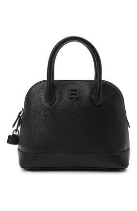 Женская сумка ville s BALENCIAGA черного цвета, арт. 645009/1Y517 | Фото 1 (Сумки-технические: Сумки top-handle, Сумки через плечо; Ремень/цепочка: На ремешке; Материал: Натуральная кожа; Размер: medium)