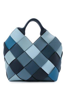 Женская сумка woven LOEWE синего цвета, арт. A521T32X06 | Фото 1