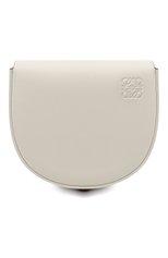 Женская сумка heel LOEWE белого цвета, арт. A894A01X02   Фото 1