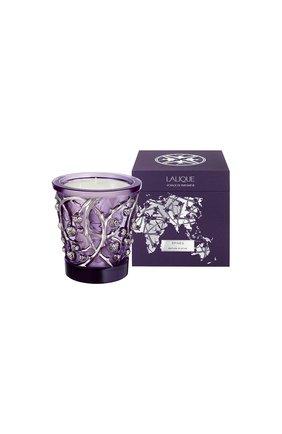 Свеча epines LALIQUE фиолетового цвета, арт. B14600 | Фото 2