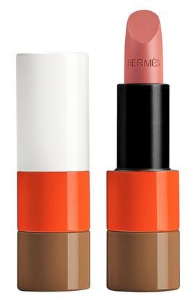 Атласная губная помада rouge hermès, beige ébloui limited edition HERMÈS бесцветного цвета, арт. 60277SV017H | Фото 1