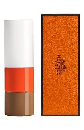 Атласная губная помада rouge hermès, beige ébloui limited edition HERMÈS бесцветного цвета, арт. 60277SV017H | Фото 2
