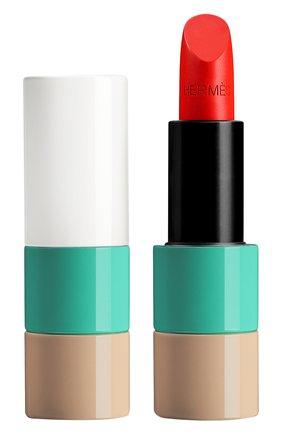 Атласная губная помада rouge hermès, corail aqua limited edition HERMÈS бесцветного цвета, арт. 60277SV052H | Фото 1