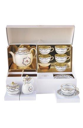 Чайный сервиз le gobelet du roy на шесть персон BERNARDAUD разноцветного цвета, арт. L713/22626 | Фото 1
