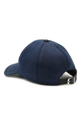 Мужской бейсболка из шерсти и хлопка CORNELIANI синего цвета, арт. 870332-1129211/00 | Фото 2