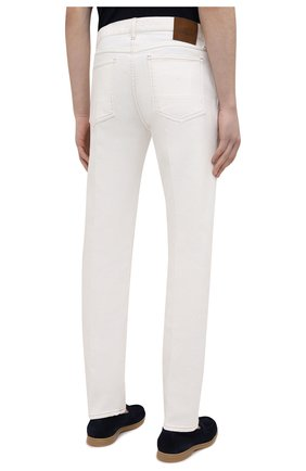 Мужские джинсы TOM FORD белого цвета, арт. BWJ43/TFD021   Фото 4