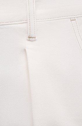 Мужские джинсы TOM FORD белого цвета, арт. BWJ43/TFD021   Фото 5