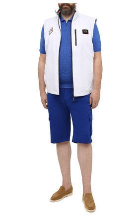 Мужское хлопковое поло SVEVO синего цвета, арт. 46302SE21L/MP46 | Фото 2