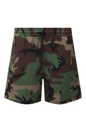 Мужские плавки-шорты POLO RALPH LAUREN хаки цвета, арт. 710835128 | Фото 1