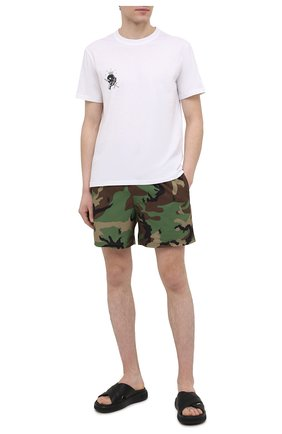 Мужские плавки-шорты POLO RALPH LAUREN хаки цвета, арт. 710835128 | Фото 2
