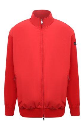 Мужской комбинированный кардиган PAUL&SHARK красного цвета, арт. 21411721/H06/3XL-6XL | Фото 1
