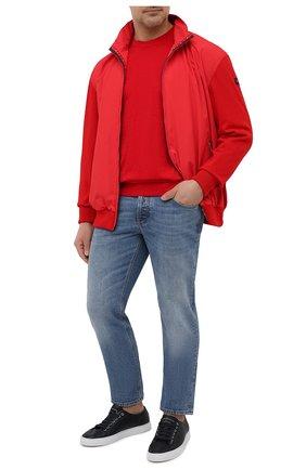 Мужской хлопковый джемпер PAUL&SHARK красного цвета, арт. 21411508/C00/3XL-6XL | Фото 2