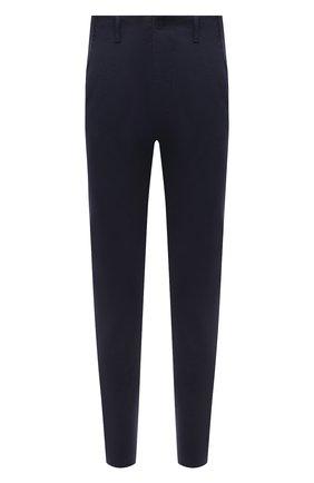 Мужские брюки TRANSIT темно-синего цвета, арт. CFUTRNF150 | Фото 1