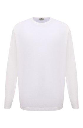 Мужская хлопковый лонгслив KIRED белого цвета, арт. WBACI0MW732100101B/64-74 | Фото 1