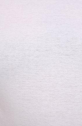 Мужская хлопковый лонгслив KIRED белого цвета, арт. WBACI0MW732100101B/64-74   Фото 5 (Big sizes: Big Sizes; Рукава: Длинные; Принт: Без принта; Длина (для топов): Удлиненные; Материал внешний: Хлопок; Стили: Кэжуэл)